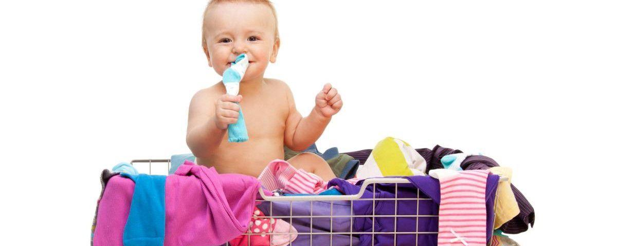 Безопасная стирка детской одежды