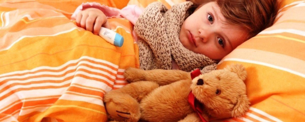 Если ребенок заболел ОРВИ