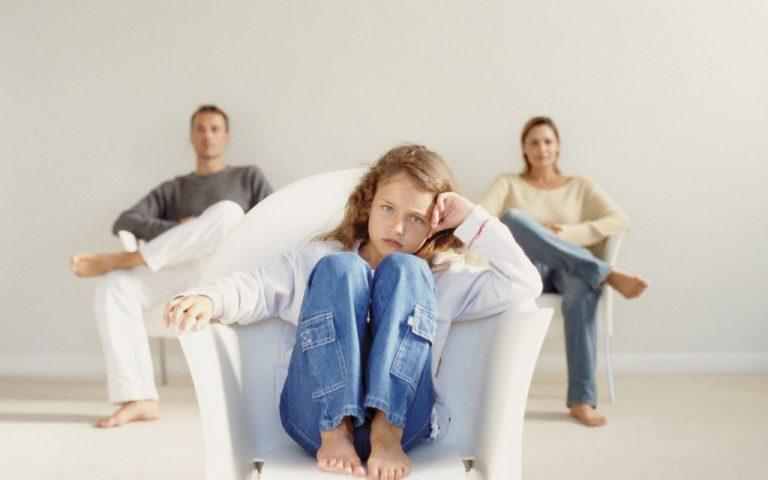 Если родители развелись и ребенок от предыдущего брака
