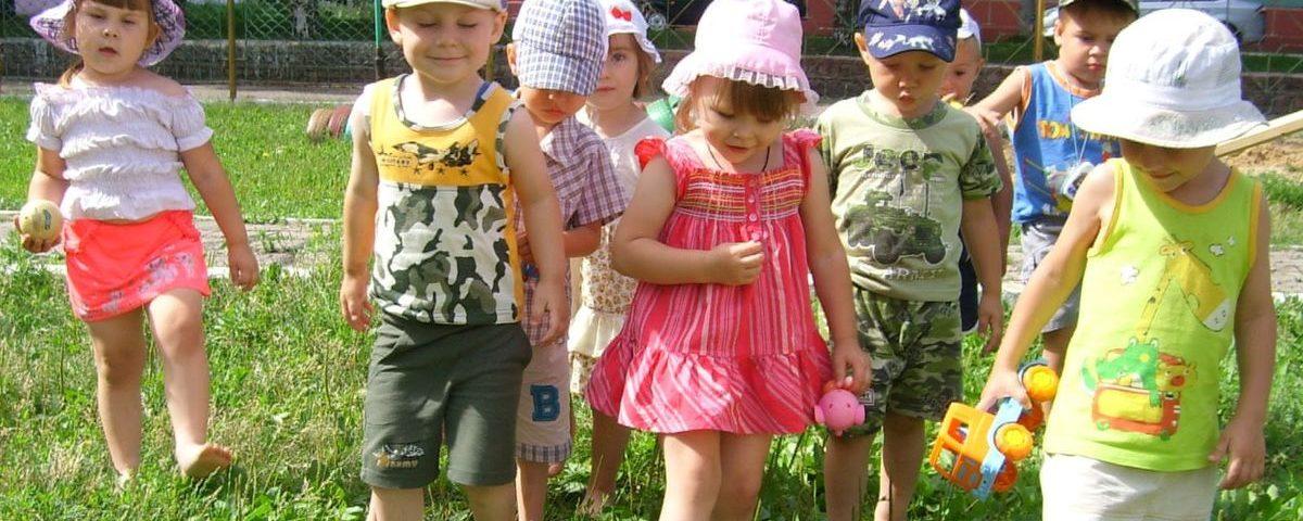 Лето для дошкольников