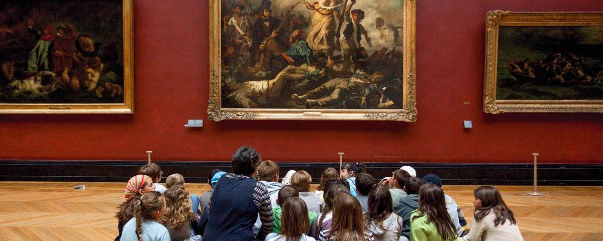 Музеи и картинные галереи для ребенка