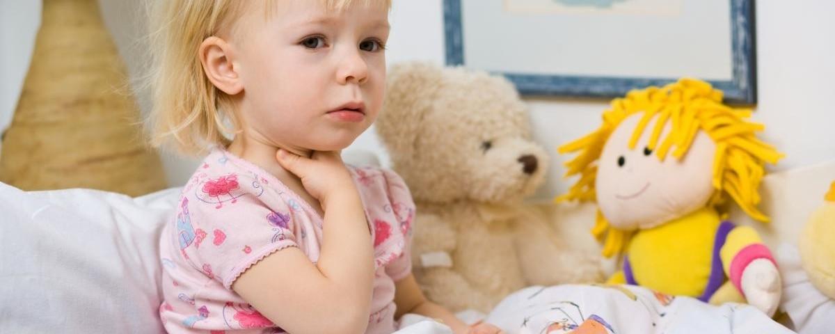 Нарушения глотания (дисфагии) и боль при глотании у детей