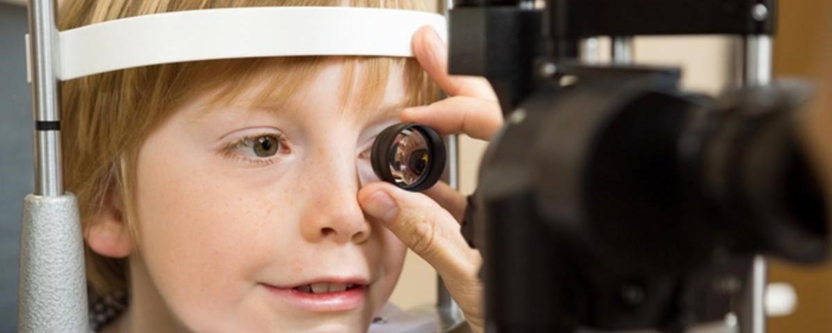 Основные заболевания глаз у детей