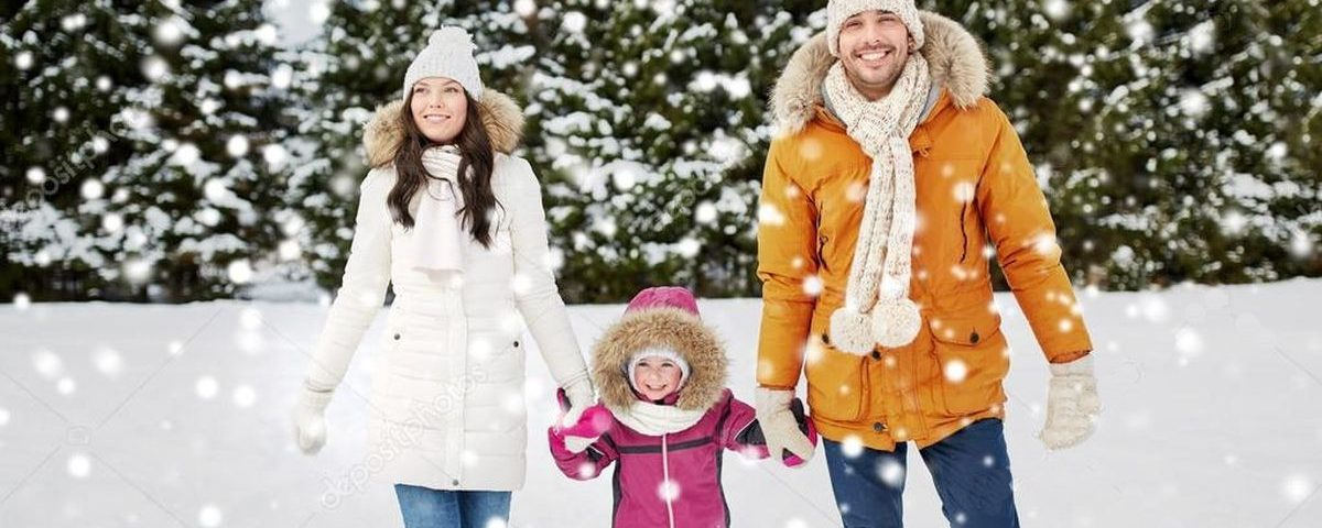 Зимние прогулки с ребенком